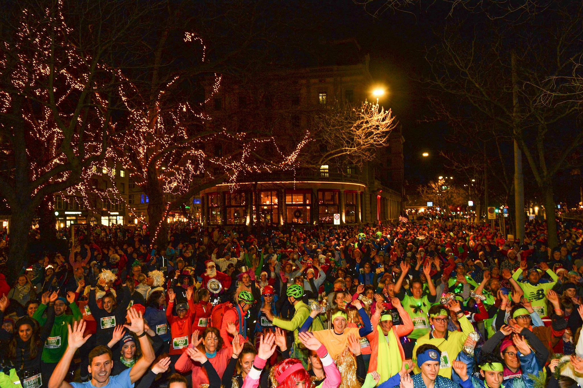 Zürcher Silvesterlauf | Weihnachten in Zürich